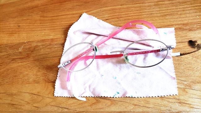 壊れた眼鏡のアイキャッチ画像